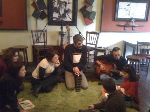 """Το ξεκίνημά μας στο Art Cafe Bar """"Παλιά Βιβλιοθήκη"""""""