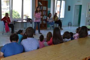 Από προηγούμενή μας επίσκεψη στην παιδική βιβλιοθήκη του Αγίου Λουκά
