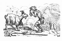 Χαρακτικό του Ernest Griset (1874)