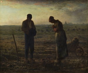 """""""Ο άγγελος"""". Έργο του Jean-François Millet το 1859."""