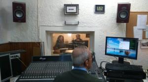 Στο στούντιο