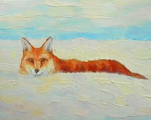 Αλεπού στα χιόνια
