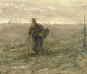 Πίνακας του Jozef Israëls (1824-1911)